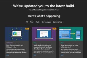 Microsoft Edge 96.0.1043.1 im Dev-Kanal mit weiteren Verbesserungen selbst für Windows 7
