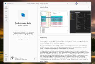 Sysinternals Suite nun auch im Microsoft Store und Sysmon für Linux