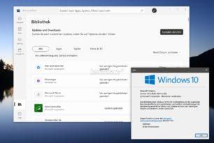 Windows 10 hat nun auch die neue Store App von Windows 11 erhalten
