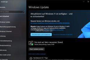 Windows 11 – Das Upgrade wird nun über Windows Update an mehr Nutzer verteilt