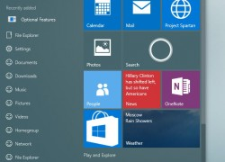 Windows 10 Build 10125: Weitere interessante Screenshots