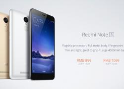 Xiaomi Redmi Note 3 und Xiaomi Mi Pad 2 offiziell vorgestellt