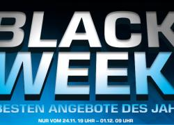 Black Week: Auch Saturn startet Angebotswoche