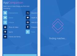 AppComparison: Welches Android-App ist auch für Windows Phone / Mobile verfügbar