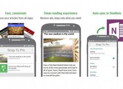 """Microsoft veröffentlicht """"Snap To Pin""""-App für Android"""