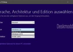Windows 10 Media Creation Tool lädt nur noch Build 10240 herunter