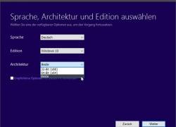 Windows 10 10586 (1511 TH2) All in One ISO erstellen