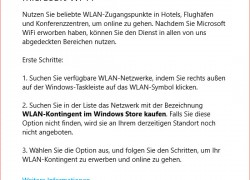 Microsoft Wi-Fi App in der Windows 10 Build 10158 verfügbar