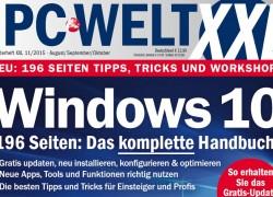 Gratis Heft für Windows 10 von PC-Welt