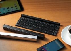LG Rolly – Kompakte Tastatur zum Aufrollen vorgestellt